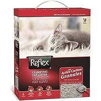 Reflex Granül Aktif Karbonlu Topaklanan Kedi Kumu 6 Lt * 2 Adet