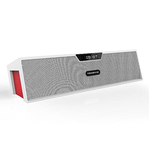 4 opinioni per TECEVO- Altoparlante Wireless Bluetooth con microfono 240 mm x 62 mm x 55 mm T7-