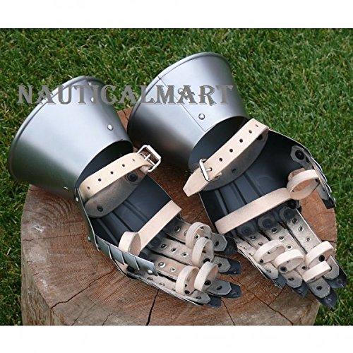 Medieval Knight Gauntlets Gothic Gauntlets Gloves By Nauticalmart by NAUTICALMART (Image #3)