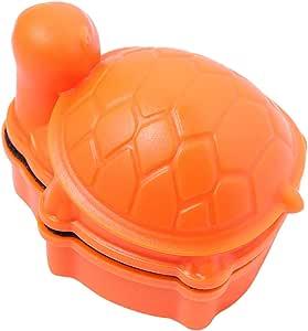 POPETPOP Magnetic Glass Cleaner Brush Turtle Shape - Algae Cleaning Scrapers Aquarium Tank Glass Brush Glass Cleaning Tools for Small Fish Tank