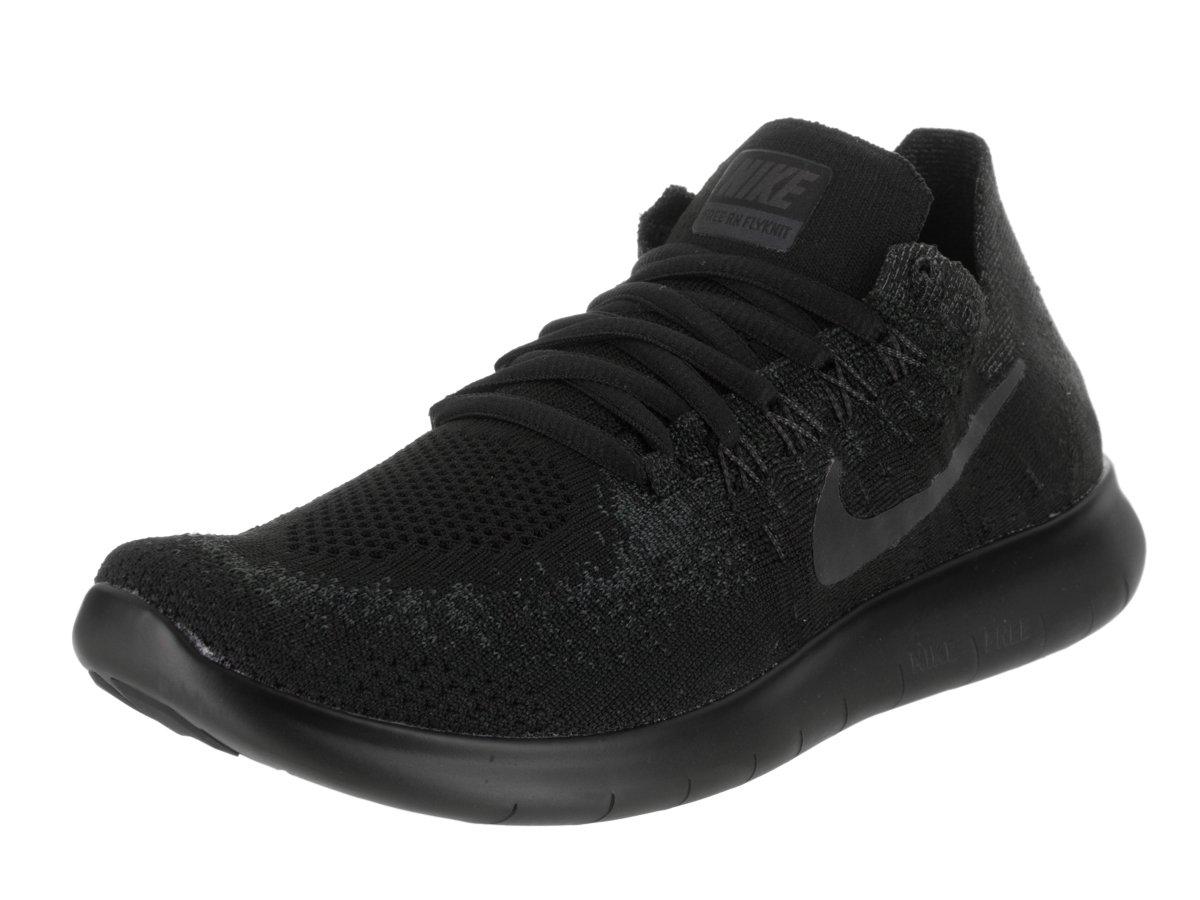 Nike Herren Free Rn Flyknit 2017 Traillaufschuhe, 38 EU  39 EU|Schwarz (Black/Anthracite 013)