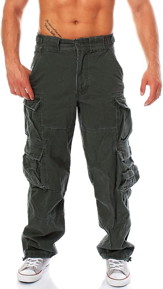 Jet Lag 007 Pantalon Cargo Ancho Para Hombre Varios Colores 28 44 Urban Chic Xxxl Amazon Es Ropa Y Accesorios