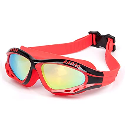 negro negro antivaho, aspecto aerodin/ámico, lente PC, protecci/ón UVA Gafas de nataci/ón para adultos