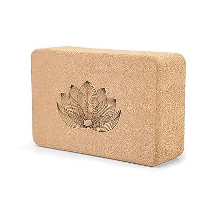DLYDSS Bloques De Corcho Yoga, 100% Ladrillos Yoga Natural ...
