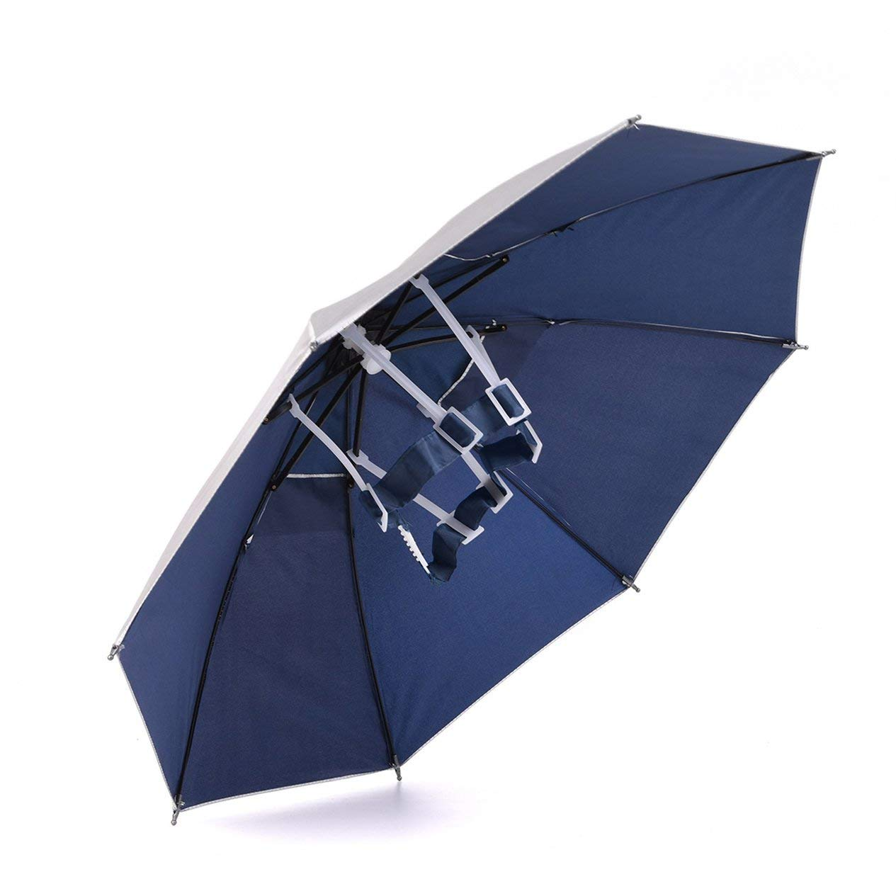 EdBerk74 Sombrero de sombrilla al Aire Libre Gorra de Lluvia para el Sol para Acampar Pesca