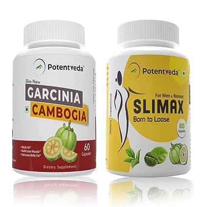 Potentveda Garcinia Cambogia Extract 70 Hca Slimax Garcinia