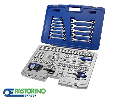 CASSETTA BUSSOLE + CHIAVI 101 PZ. DA 1/2 PASTORINO EXPERT E032911