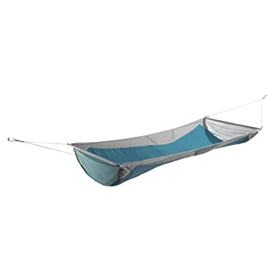ENO, Eagles Nest Outfitters Skyloft Hammock with Flat and Recline Mode, Grey/Seafoam: Sports & Outdoors