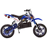 Rosso Motors Kids Dirt Bike Ride On with 1000W Electric Motocross Electric Motorcycle Pocket Bicycle Dirt Bike for Kids with disc brake system for child safety