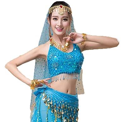 TianBin Mujer Profesional Danza del Vientre Ropa Elegantes ...