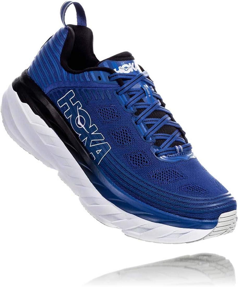 Hoka BONDI 6, Zapatillas de Running por Hombre, Azul (Galaxy Blue ...