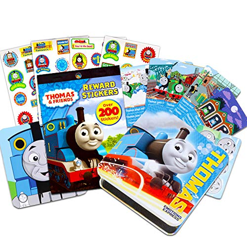 Thomas and Friends Emotions Express Magnet Set~ Trilingual English French Spanish Emotion Learning Set with Bonus Reward Stickers (Thomas The Tank Engine Learning & Education) ()