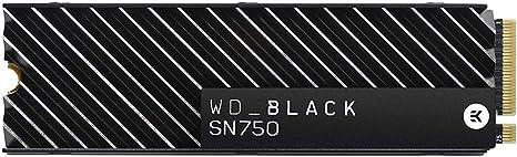 WD Black SN750 - SSD Interno NVMe con disipador térmico para ...