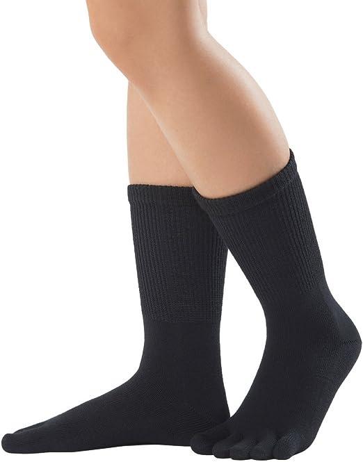 Knitido Foot Relax   Medias de dedos en algodón con caña ...