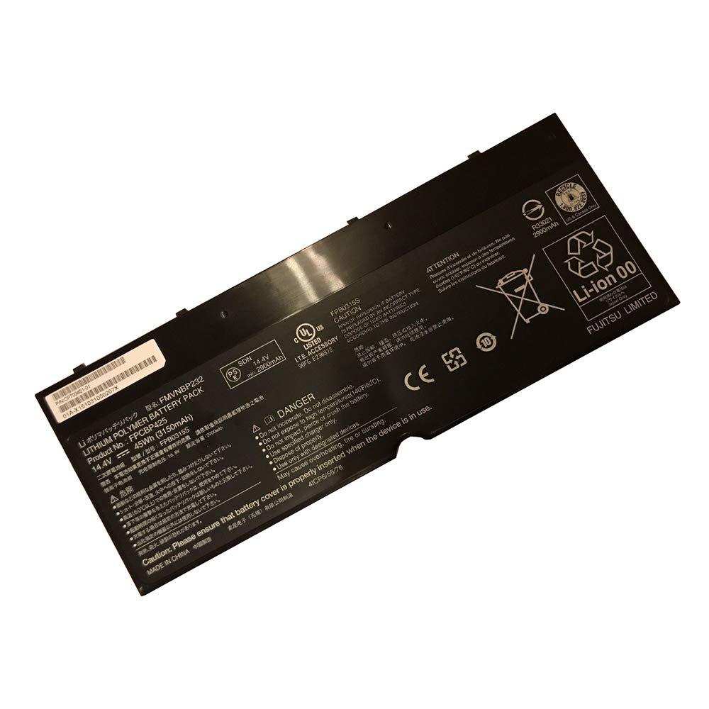 New 14.4V 45Wh 3150mAh FPCBP425 FMVNBP232 Laptop Notebook Battery Compatible Fujitsu Lifebook U745 T935 T904U Series