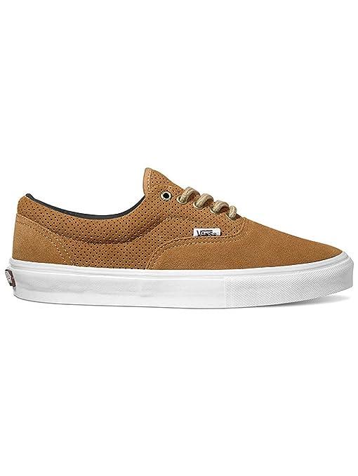 Vans Skate Shoe Men Era Pro Skatescarpe, (Perforated) Tobacco, 12
