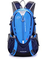 Diamond Candy Outdoor Hiking Climbing Backpack Cycling Backpack Daypacks Waterproof Mountaineering Bag 25L Unisex High-capacity Travel Bag