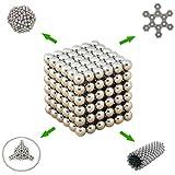 Tera® Cubo magico fatto di neodimio Rompicapo 216 sfere magnetiche - gift box in metallo