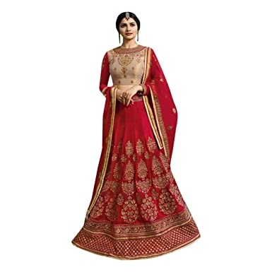Amazon.com: Designer Collection Sparkle Seda Lehnga Choli ...