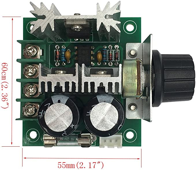 FengYun/® PWM velocit/à diretta della velocit/à della pompa del regolatore della velocit/à della pompa ad alta efficienza 12V 40V 10A