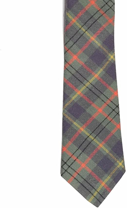BBI Taylor - Corbata de Cuello (100% Lana), diseño de tartán ...