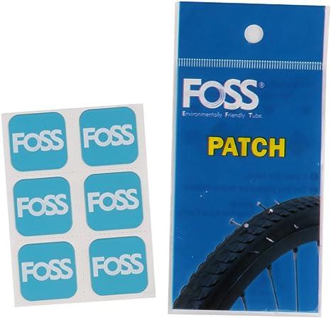 CHI-CTRY Juego de 6 Piezas de Parches para neumáticos de Bicicleta ...