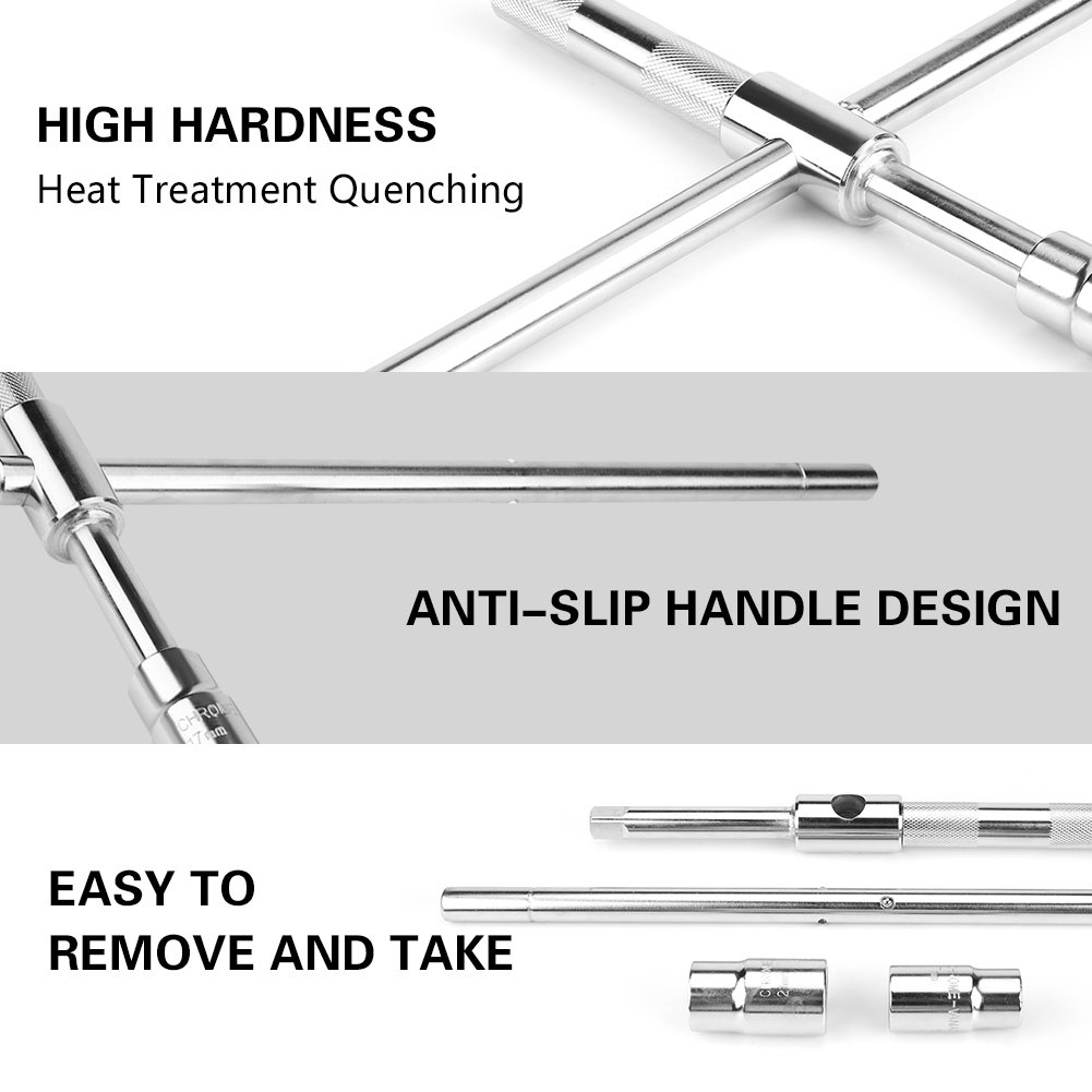 Car Cross Labor Saving Remove Tyre Wrench Tire Spanner Sleeve Repair Tool Tire Wrench