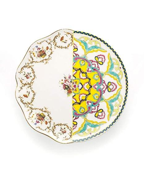 SELETTI Bandeja de Porcelana Hybrid-diomira cm.37/x 24,8