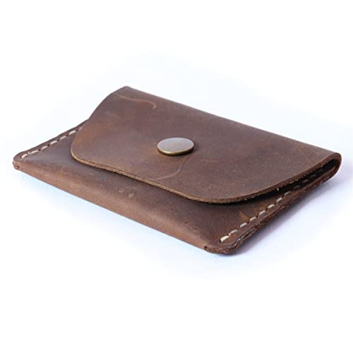25c9e346881dc Amazon.com  Slim Leather Wallet Credit Card Holder