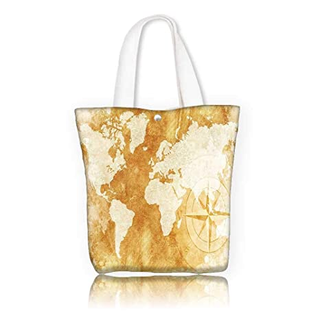 bf28cbd7f7a9 Amazon.com: Ladies canvas tote bag -W23 x H14 x D7 INCH/Tote Laptop ...