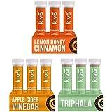 Kiva Weight Management Combo Lemon Honey Cinnamon, Apple Cider Vinegar & Triphala Juice 18 Shots (40 Ml Per Shot)