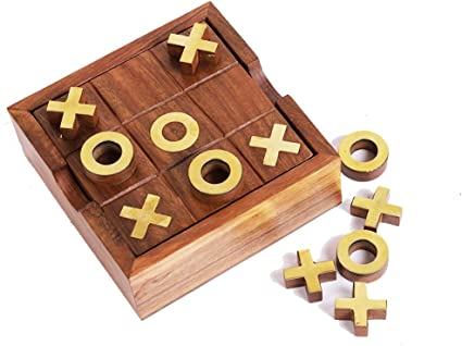 Adams and Co Tic Tac Toe Board Game