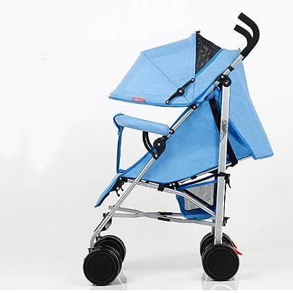 Cochecito de bebé Paisaje alto Carro plegable Muy fácil ...