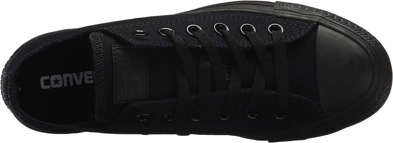 B07FDSDL29 Converse Chuck Taylor All Star Core Canvas Low Top Sneaker (6.5 M US Women / 4.5 M US Men, Black Monochrome) 71CKj5oTenL