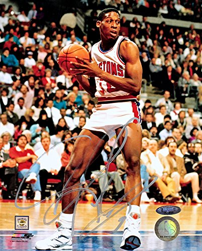 Dennis Rodman Signed Autographed Detroit Pistons 8x10 Photo TRISTAR COA Dennis Rodman Hand Signed