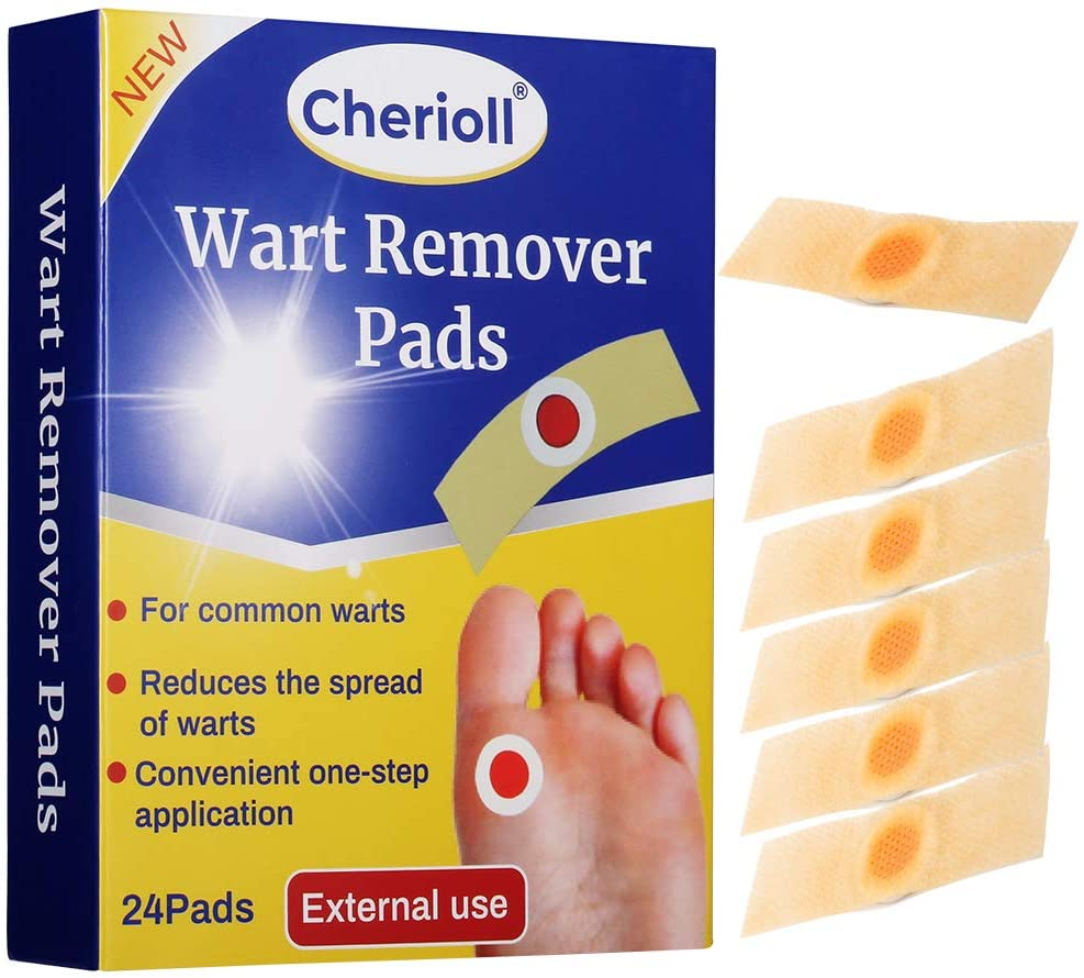 Amazon Com Wart Remover Wart Removal Plasters Pad Foot Corn Removal Plaster With Hole Feet Callus Remove Soften Skin Cutin Sticker Cure Toe Protector Relief Pain Removal Warts Plaster 24 Pcs Box Health