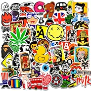 Cool Stickers for Adults and Teens, 100 Packs Car Decals Cute Vinyl Sticker for Laptop, Skateboard,Scrapbook ,