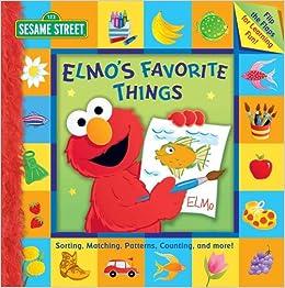 Amazon com: Sesame Street Elmo's Favorite Things (9780794411404