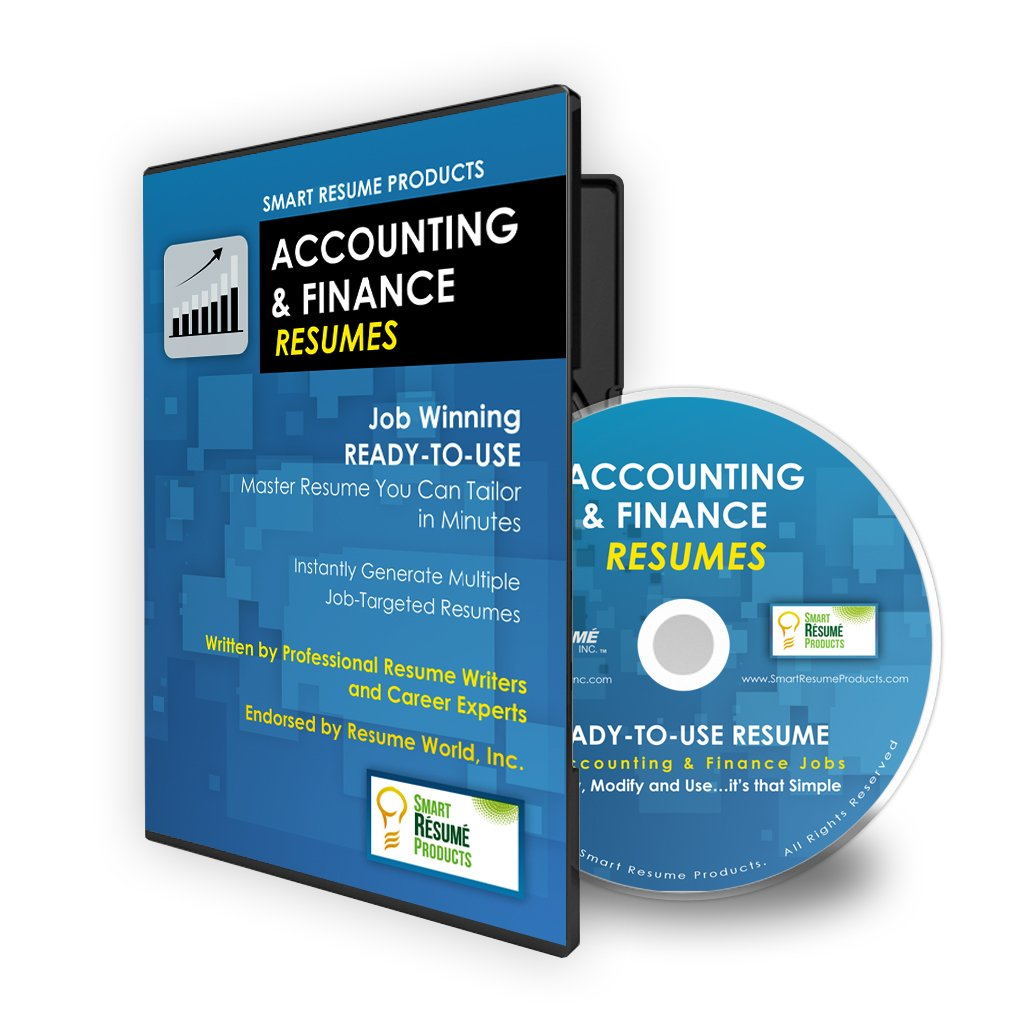 accounting finance resumes job winning ready to use master accounting finance resumes job winning ready to use master resume you can tailor in minutes written by certified resume writers and career experts