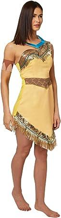 Rubies - Disfraz oficial de Pocahontas de Disney para mujer adulta ...