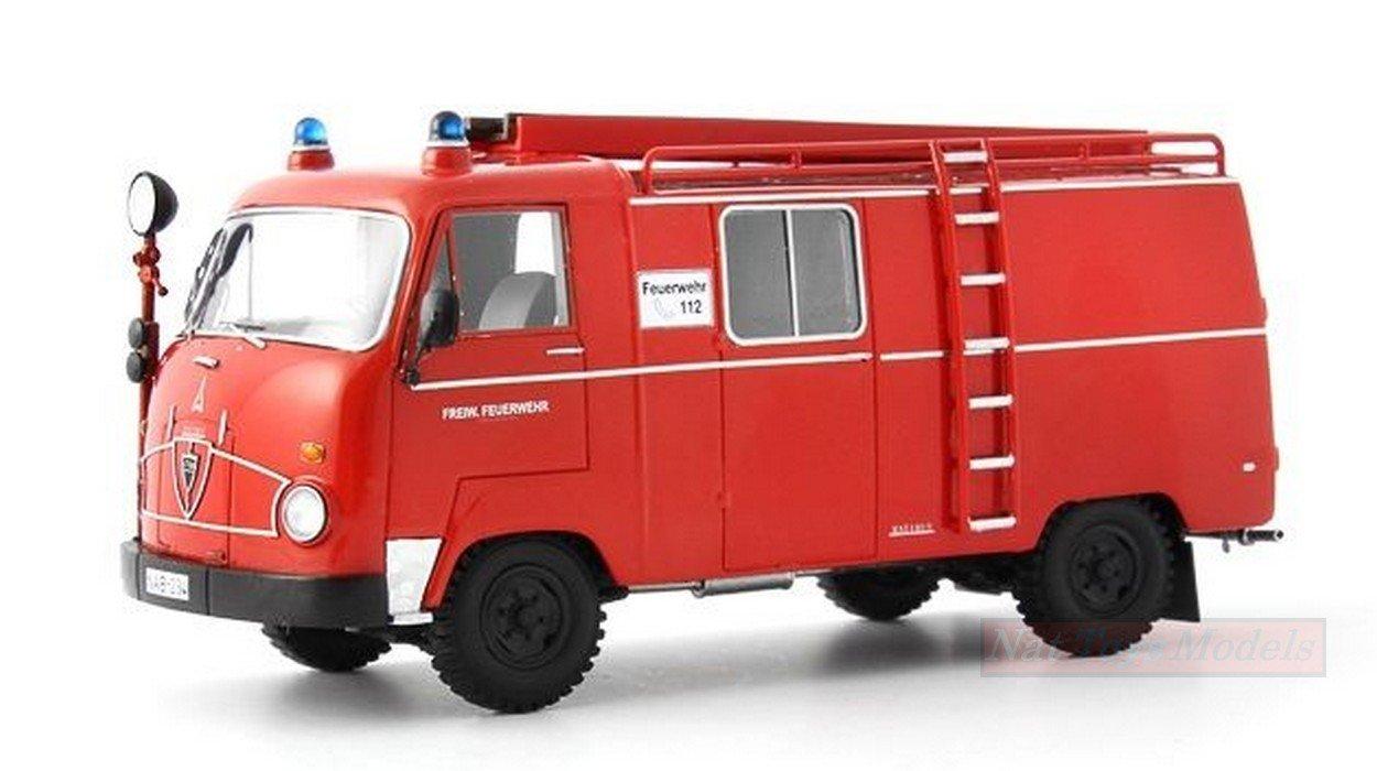 AUTOCULT ATC12000 MAGIRUS FAUN F24 LF8 FEUERWEHR 1964 1 43 MODELLINO DIE CAST