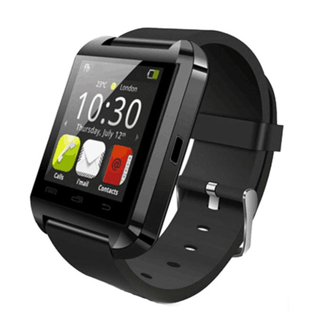 Unisex USB Bluetooth Smart Wrist Watch Mobile Phone Pedometer Smart Wrist Watch US Stock
