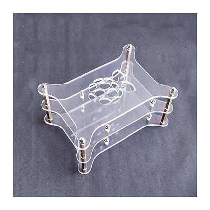 Caja de acrílico Transparente de 2 Capas con Carcasa ...