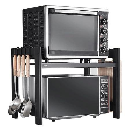 NewbieBoom Armarios Altos Rack de Cocina/Horno de microondas ...