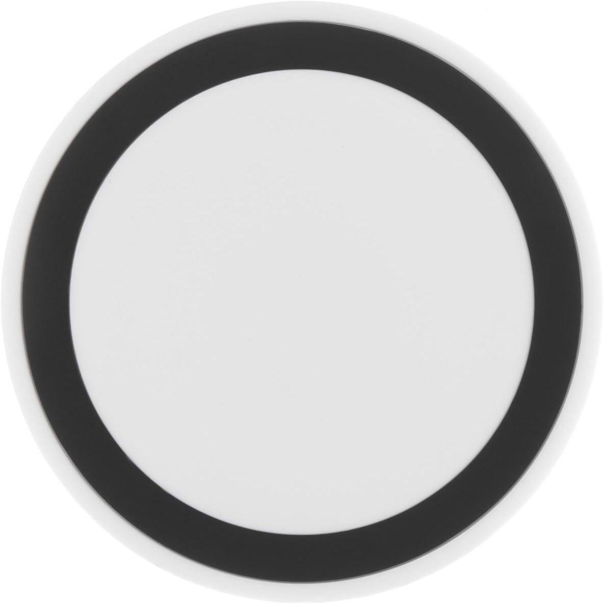 Pongaps Cargador inalámbrico del teléfono de la Almohadilla de Carga inalámbrica para Samsung Android Cargadores por inducción