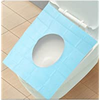 Mosquick Waterproof Toilet Seat Covers Protect From Germs, Bacteria & Skin Infection - Pack Of 10 Sheets