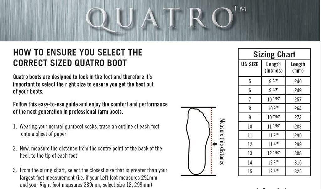 Quatro 16 Insulated Boot Size 5