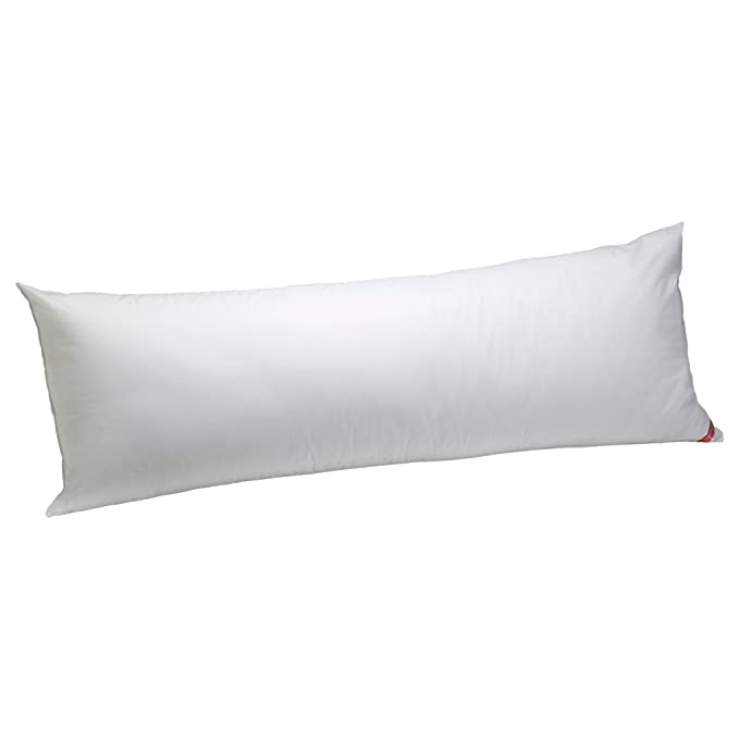 Aller-Ease Cotton Hypoallergenic Allergy Protection Body Pillow, 20