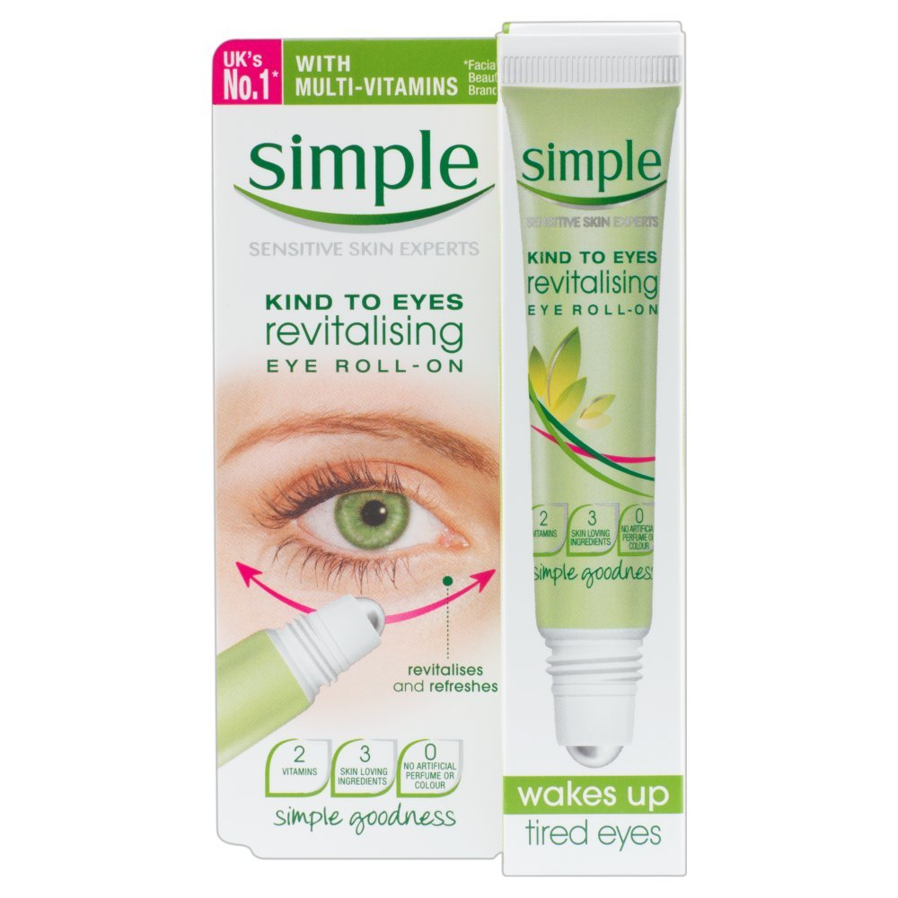 Simple Kind To Eyes Revitalising Eye Roll On 15 ml HealthCenter 9858816