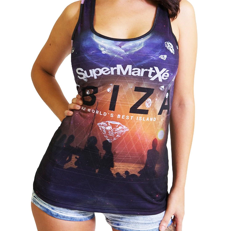 SuperMartxe Ibiza: Diamond Sunset Women's Tank